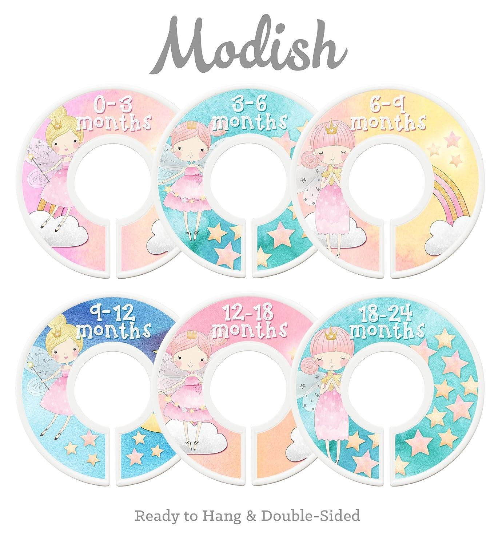 Modish Labels Baby Nursery Closet Dividers, Closet Organizers, Nursery Decor, Baby Girl, Fairy Princess, Fairy Tale Inc. 687847980179