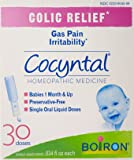 Boiron Cocyntal Baby Colic Relief Medicine, 30 Doses. Drops for Baby Colic, Gas Pain, Irritability, Bloating. Preservative-Free, Sterile Single-use Liquid Oral, Natural Active Ingredient