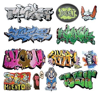 O scale custom graffiti decals 8