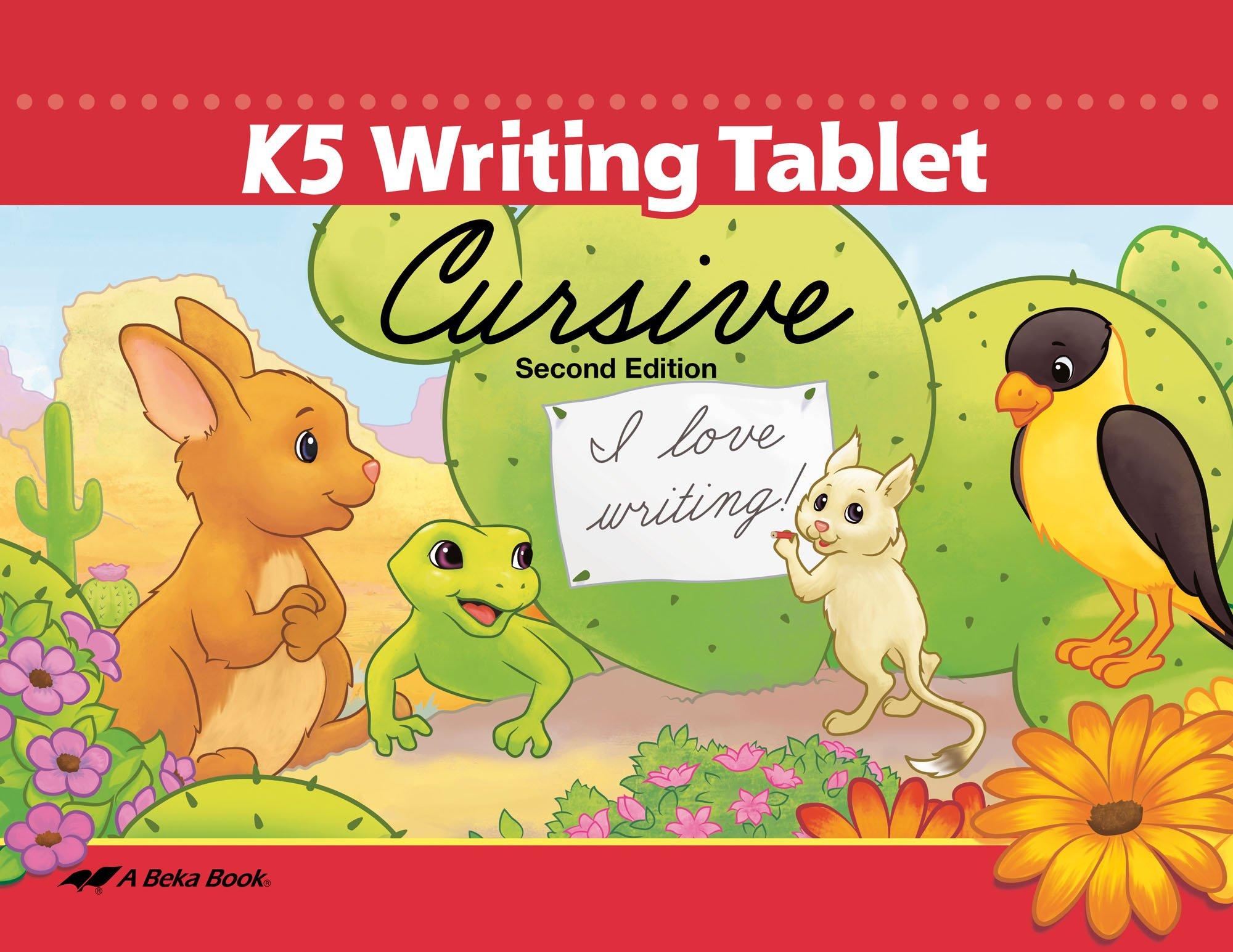 K5 Writing Tablet Cursive