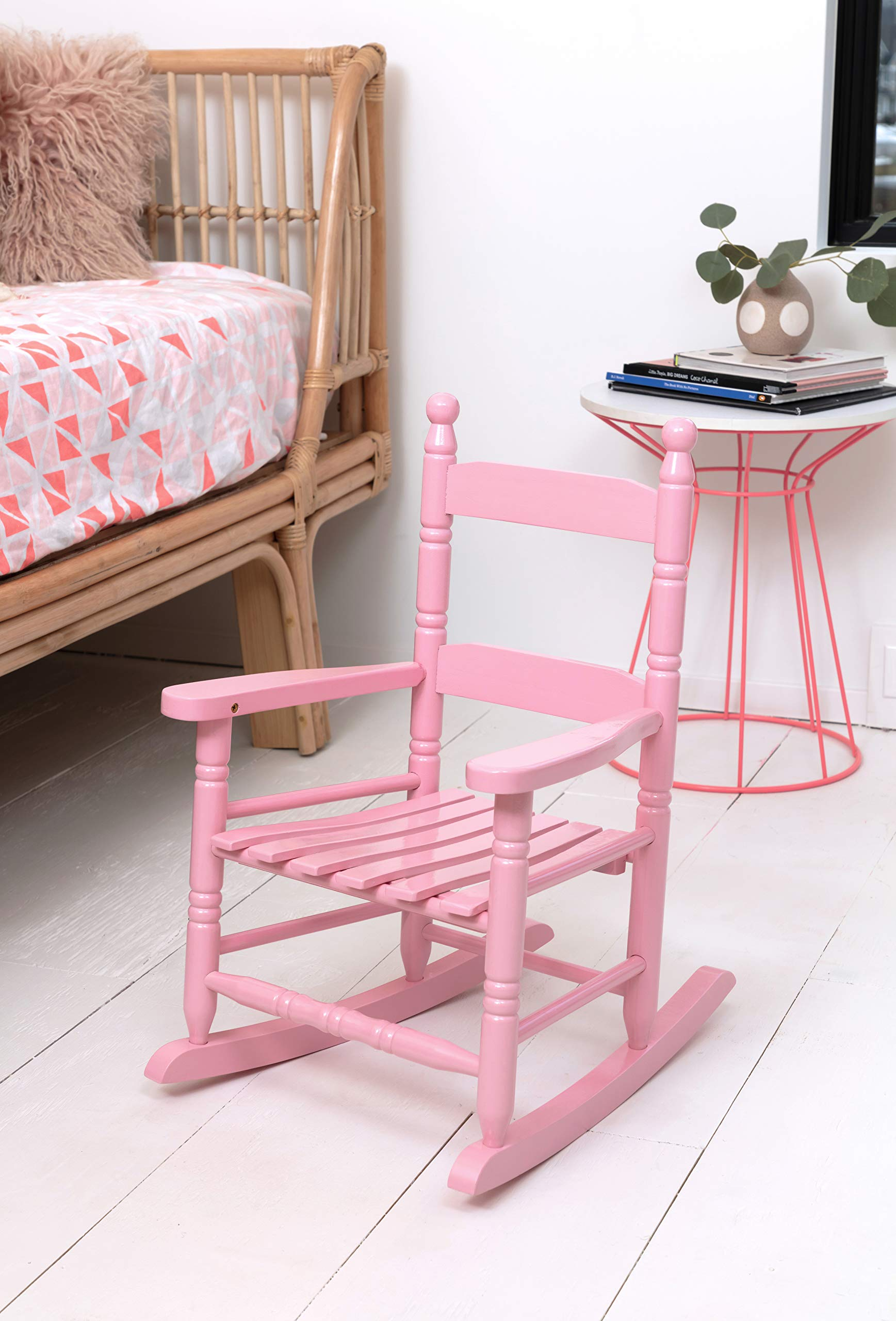 Jack-Post KN-10P Knollwood Classic Child's Porch Rocker, Pink by JACK-POST