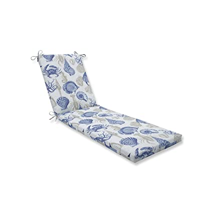 Pillow Perfect Outdoor//Indoor Monti Chino Chaise Lounge Cushion 80x23x3