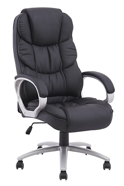 High Back Executive Leather Ergonomic Office Desk Computer Chair O10