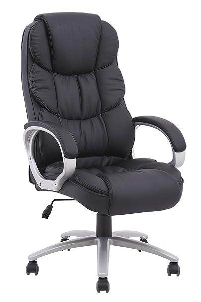 amazon com bestoffice ergonomic pu leather high back executive