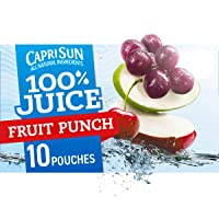 Capri Sun Fruit Punch Ready-to-Drink Juice (10 Pouches)