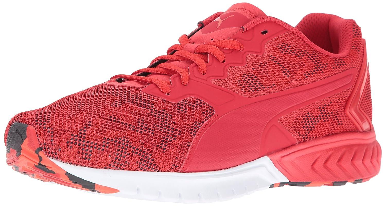 PUMA Men's Ignite Dual Camo Running Shoe B01BUSW422 13 M US|High Risk Red