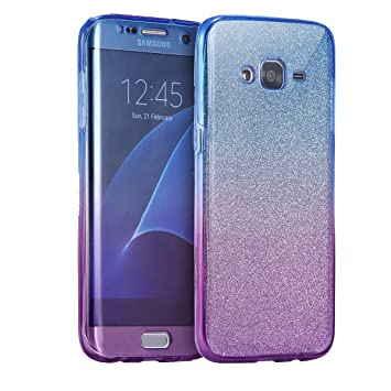 finest selection 24f9f b2c22 Galaxy J3 2015 / J3 2016 Case, Happy360 Ultra Thin Shockproof TPU TPU 360  Degree Protective Clear Crystal Rubber Soft Case Cover for Samsung Galaxy  J3 ...