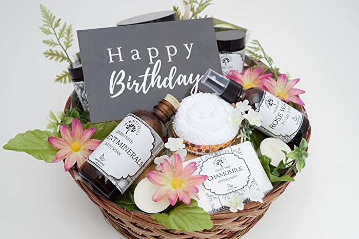 Amazon Birthday Gift Basket Bestfriend Spa For Her Gifts Ideas