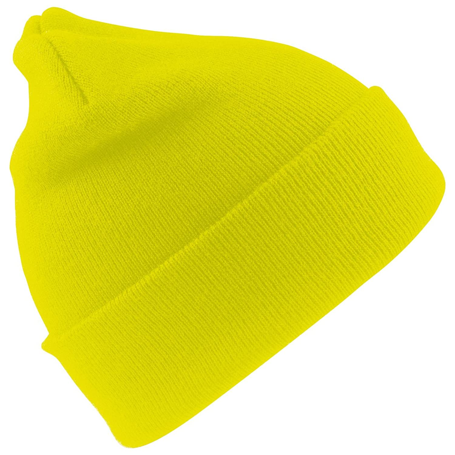 Result Woolly Ski Hat with 3M Thinsulate Insulation-Hi-Vis Yellow-sizeO/S