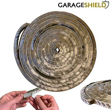 Garage Door Draught Excluder Brush Seal Strip Floor Excluders 7m Self Adhesive