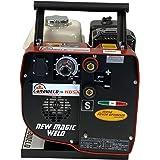 Engine Driven Stick Welder Generator Portable Welding Machine DC ARC Engine Welder 150 Amp 110 Volt Outlet Light Weight 75 Po