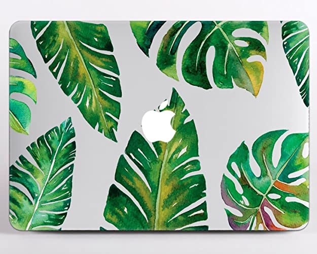 Amazon com: Modo Design Monstera Leaf Macbook Monstera Decal Vinyl