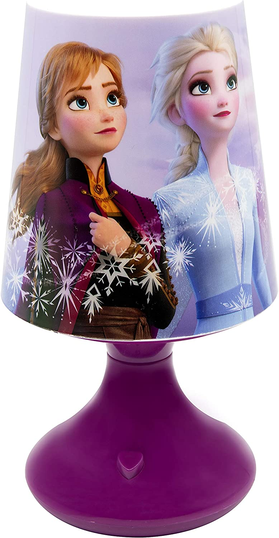 Mehrfarbig Joy Toy 19380 Tischlampe Disney Frozen 2 Lampe