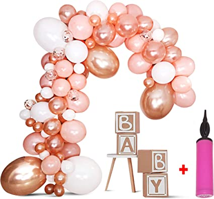 Amazon.com: Kit de guirnalda de globos DIY – Kit de arco de ...