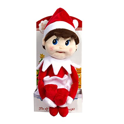 Amazon Com The Elf On The Shelf Girl Plushee Pal Light Toys Games