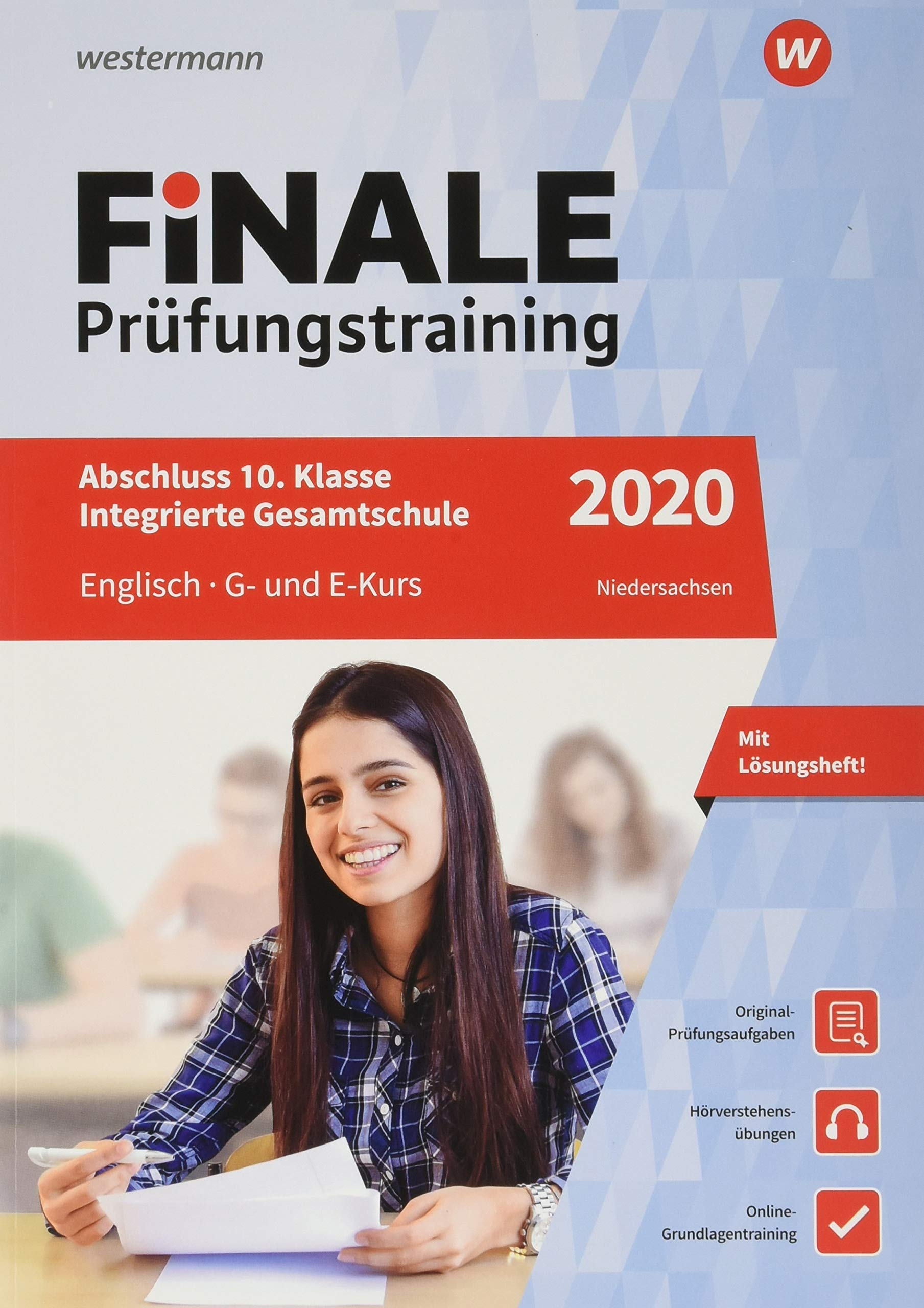 FiNALE Prüfungstraining Abschluss Integrierte Gesamtschule Niedersachsen  Englisch 2020 Arbeitsbuch Mit Lösungsheft Und Audio CD