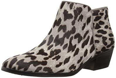 c406deec16c733 Sam Edelman Women s Petty Ankle Boot Grey Leopard 6 ...