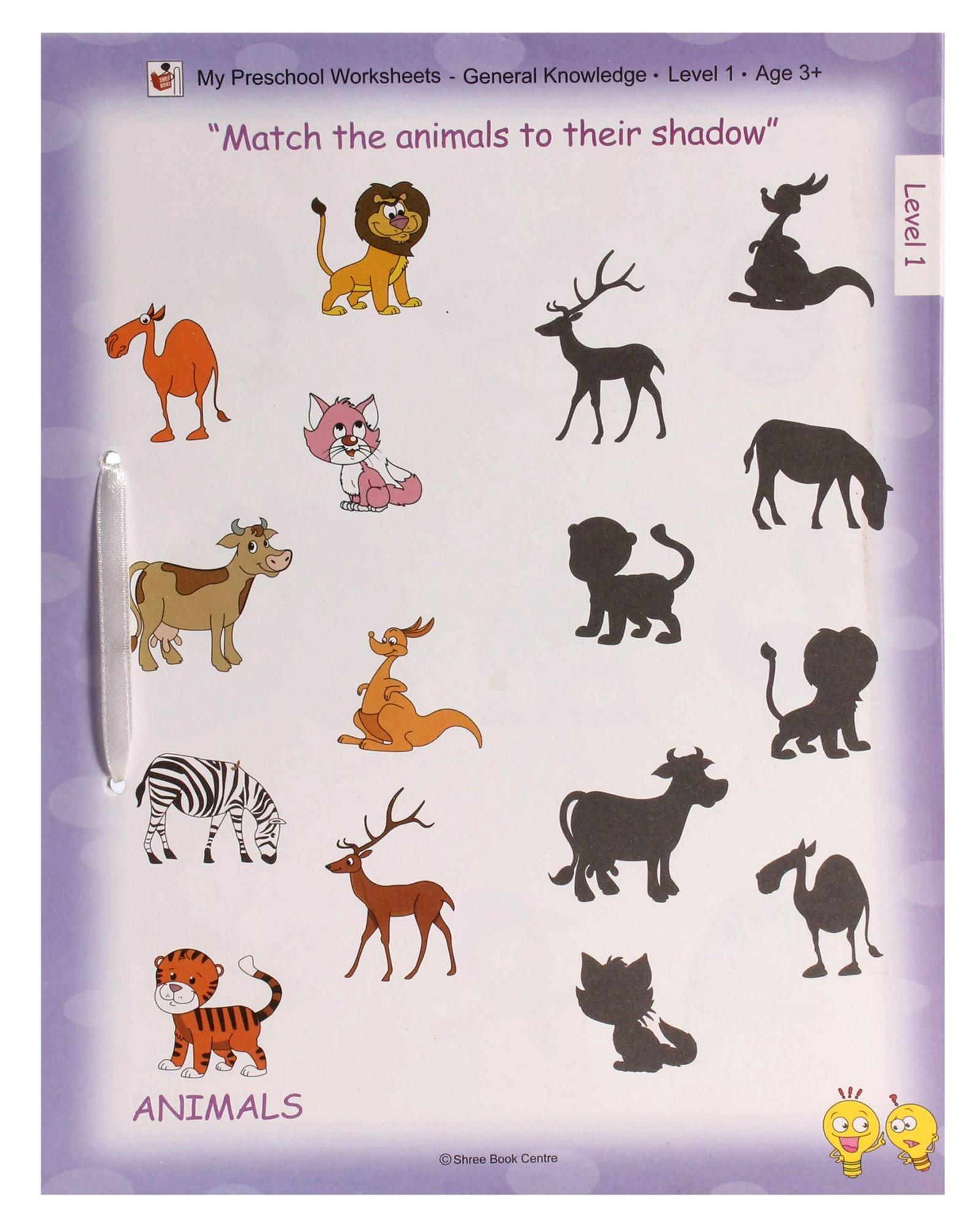 buy general knowledge level 1 my preschool worksheets book