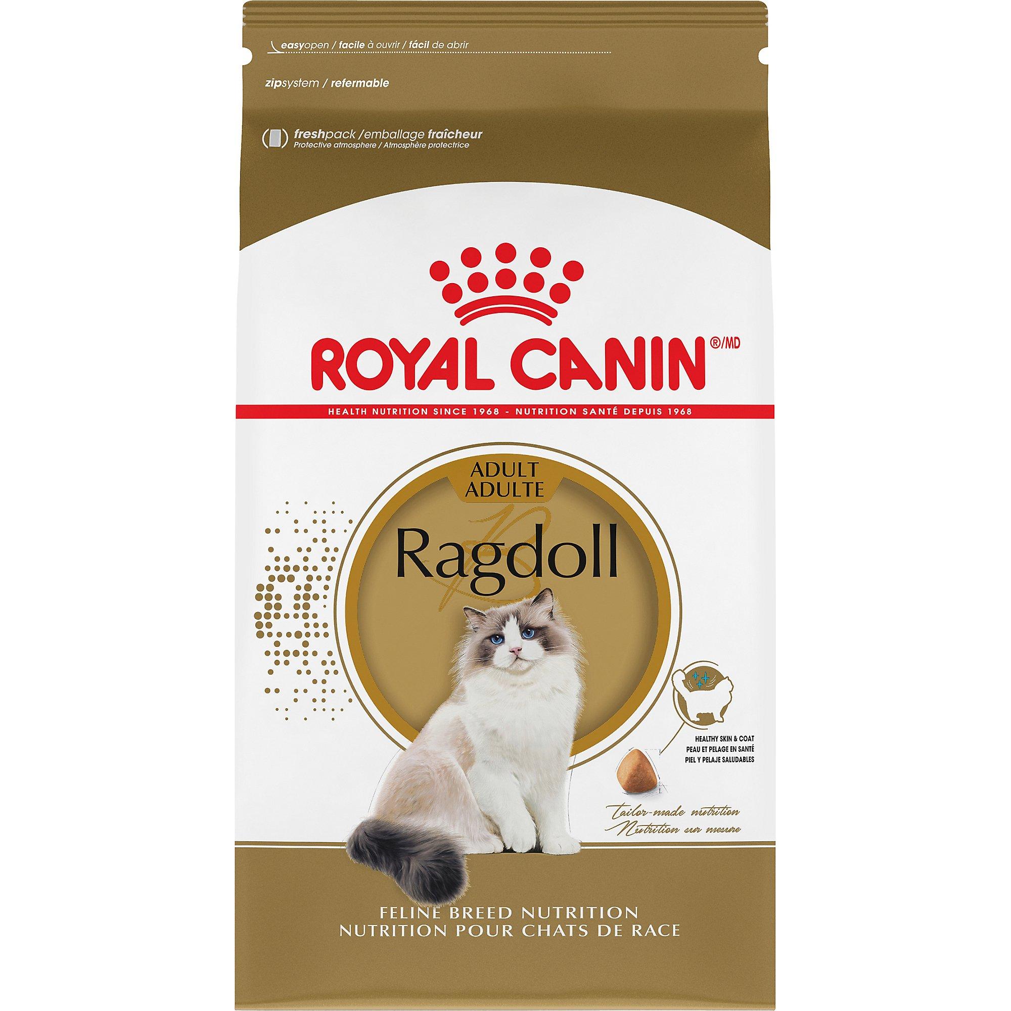 Royal Canin BREED HEALTH NUTRITION Ragdoll dry cat food, 7-Pound