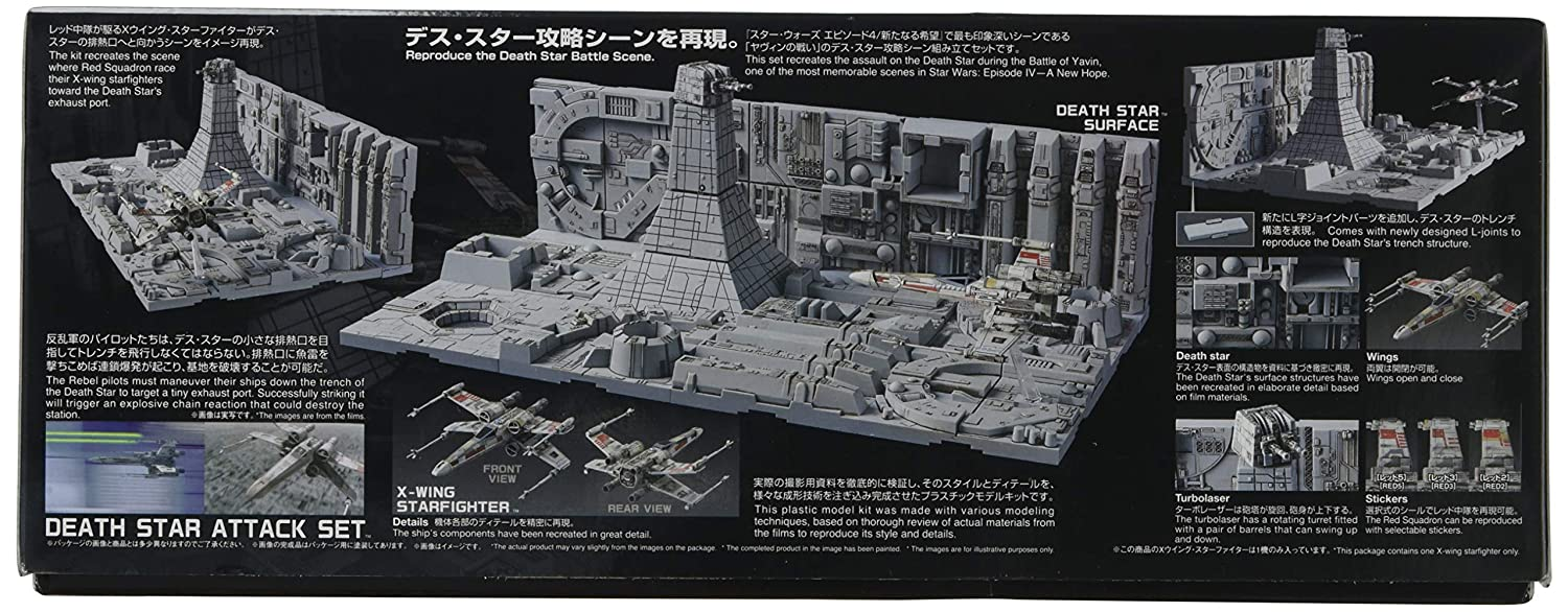 Bandai Hobby Star Wars 1/144 Plastic ModelDeath Star Attack Set