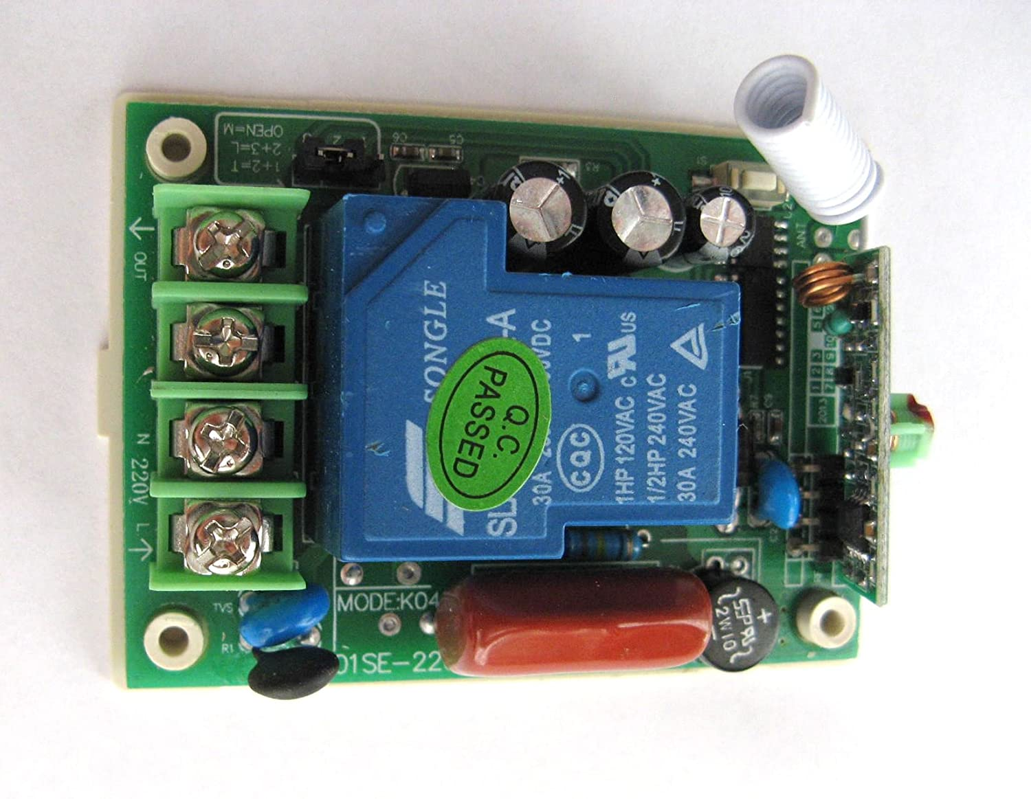 1 Channel Ac 220v Dc Rf Wireless Remote Control Switch Light Wiring Game Electronics