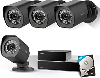 Zmodo 8CH 1080p HDMI NVR Security System & 1TB Hard Drive