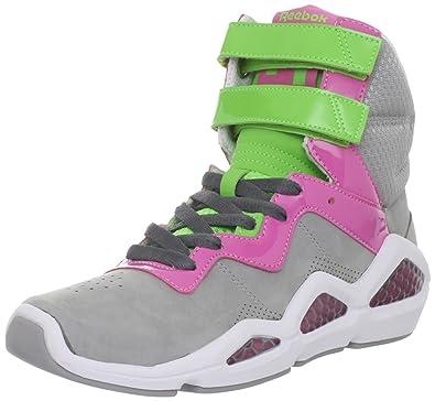 hot sale online 53b31 11784 Reebok Women s Cl Chi-Kaze Lace-up Fashion Sneaker,Grey Pink