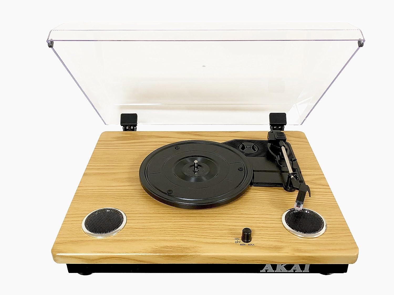 Tocadiscos AKAI RW500, Compatible 18-25-30cm, Bluetooth