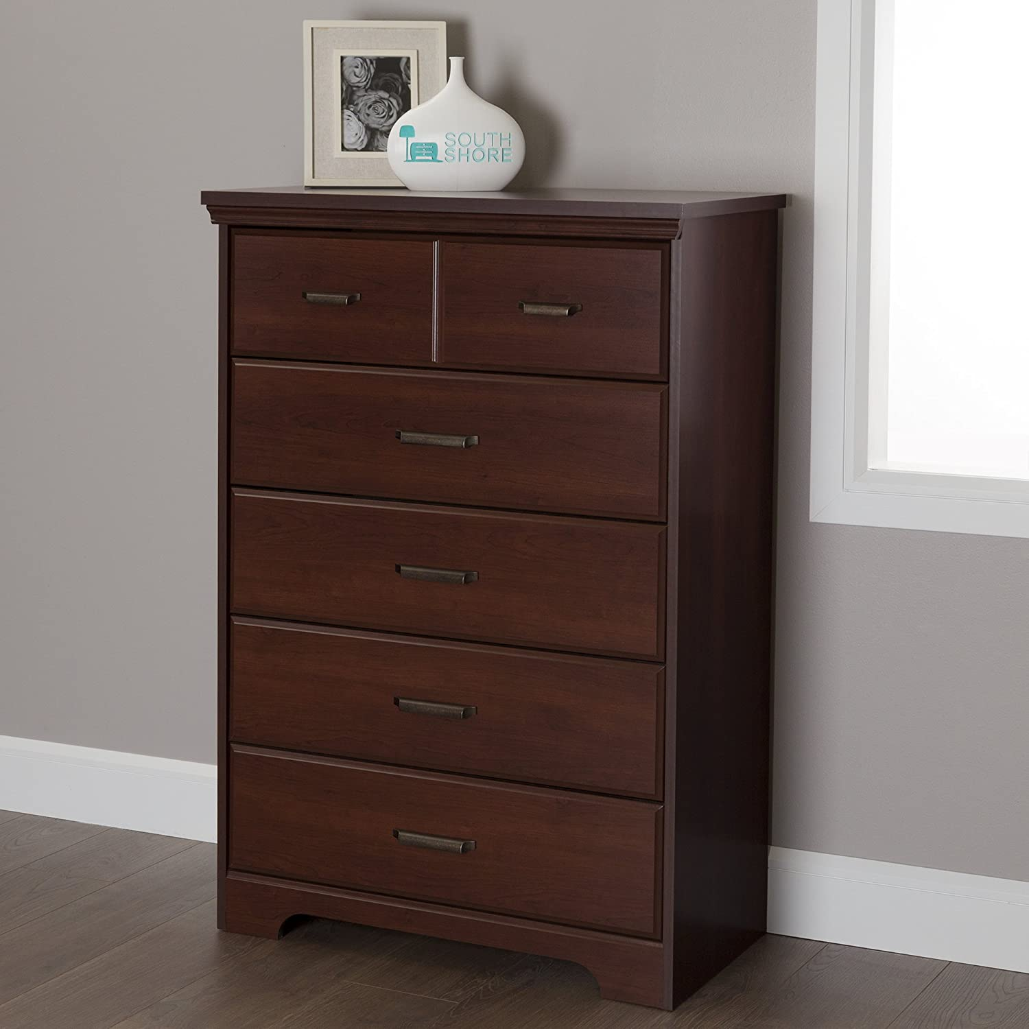 south shore furniture versa drawer chest gray maple amazonca  - south shore furniture versa drawer chest gray maple amazonca home kitchen