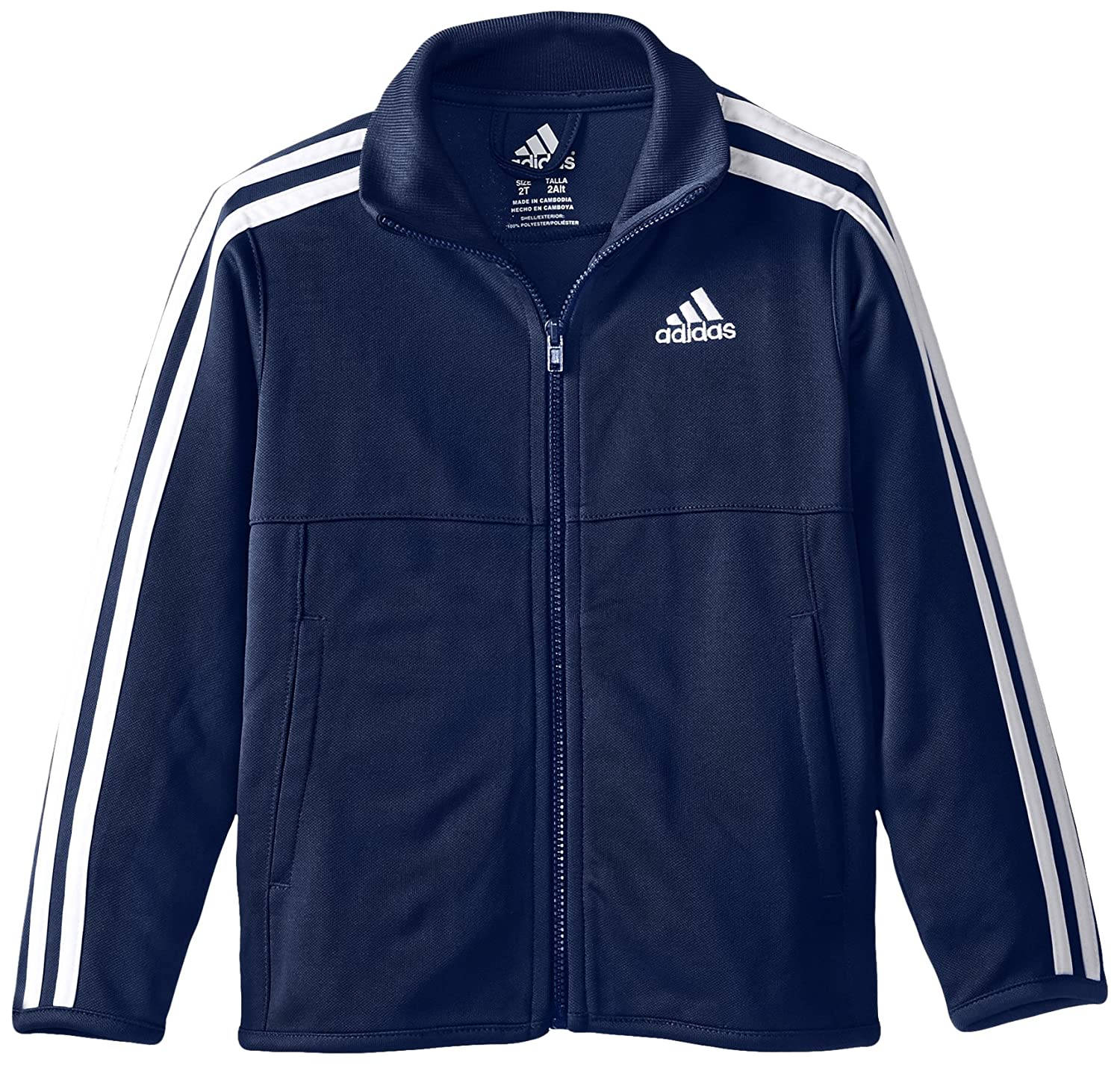 Adidas Little Boys' Tiro Jacket Dark Indigo 2T Adidas Boys 2-7 1215813