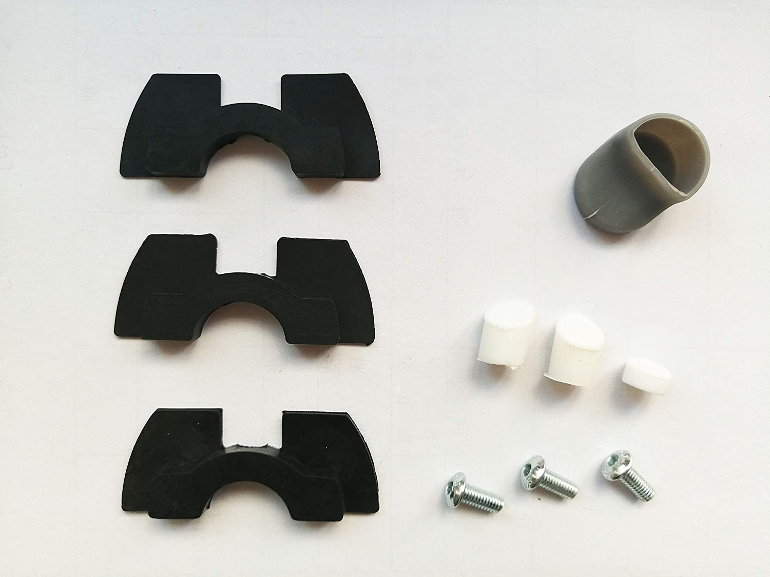 SPEDWHEL Accessories Pack for Xiaomi MiJia M365 and Xiaomi Pro Electric Scooter - Includes Vibration Dampeners (3 Sizes), Rear Mudguard Rubber Plugs ...