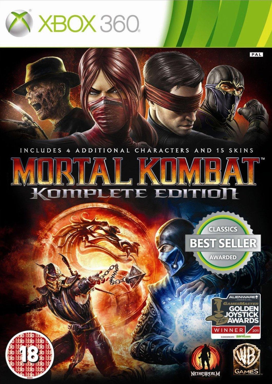 mortal kombat komplete edition xbox 360 cover