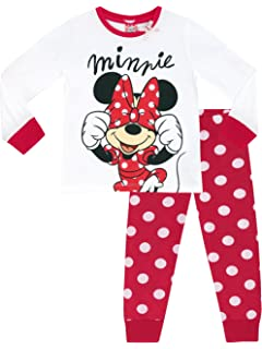 Disney Minnie Mouse Girl's Pajamas Age 4-10 Years Available