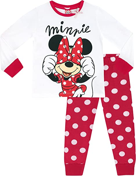 Disney Minnie Mouse Childrens Girls Fleece Onesie