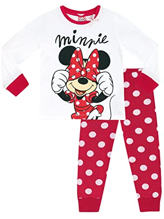 dcee2020c00a Disney Minnie Mouse Girls Minnie Mouse Pyjamas Ages 18 Months to 8 ...