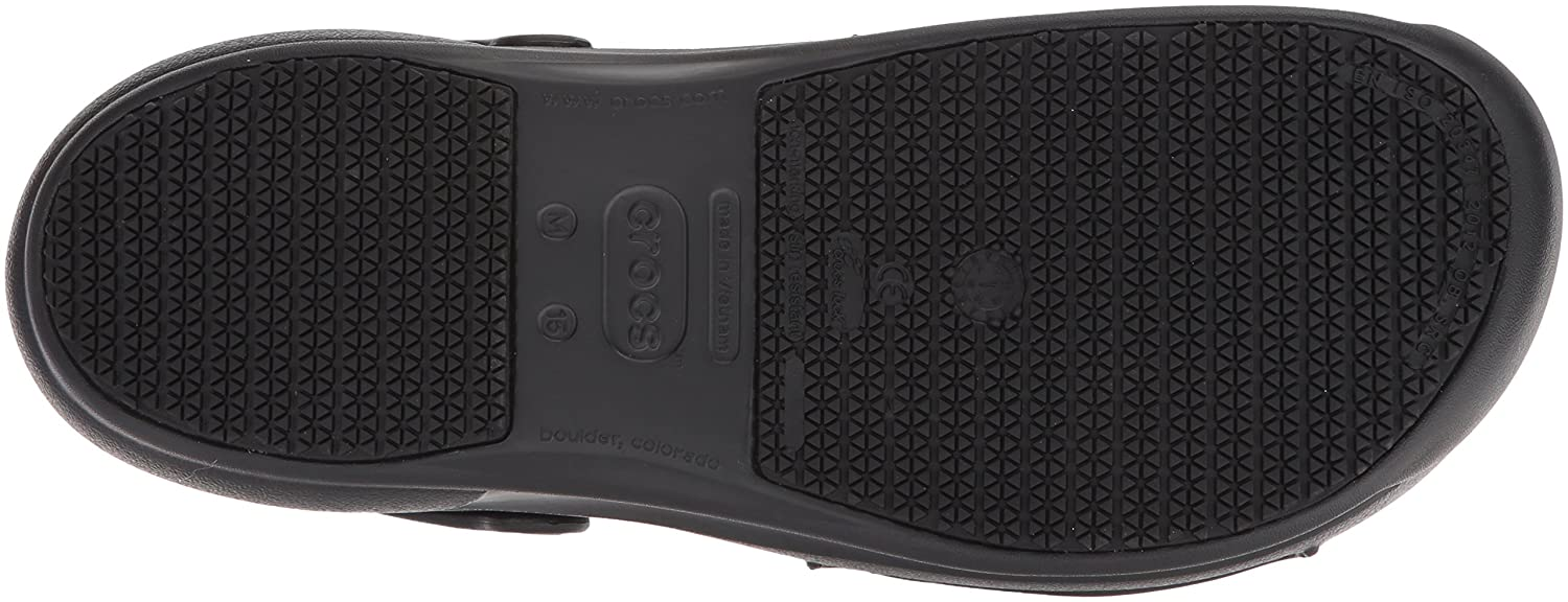 Crocs Unisex Bistro Graphic / 6 US Men / Graphic 8 US Women|Black/White/Black B0714F5HB8 af3b87