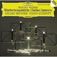Mozart/Weber: Clarinet Quartets