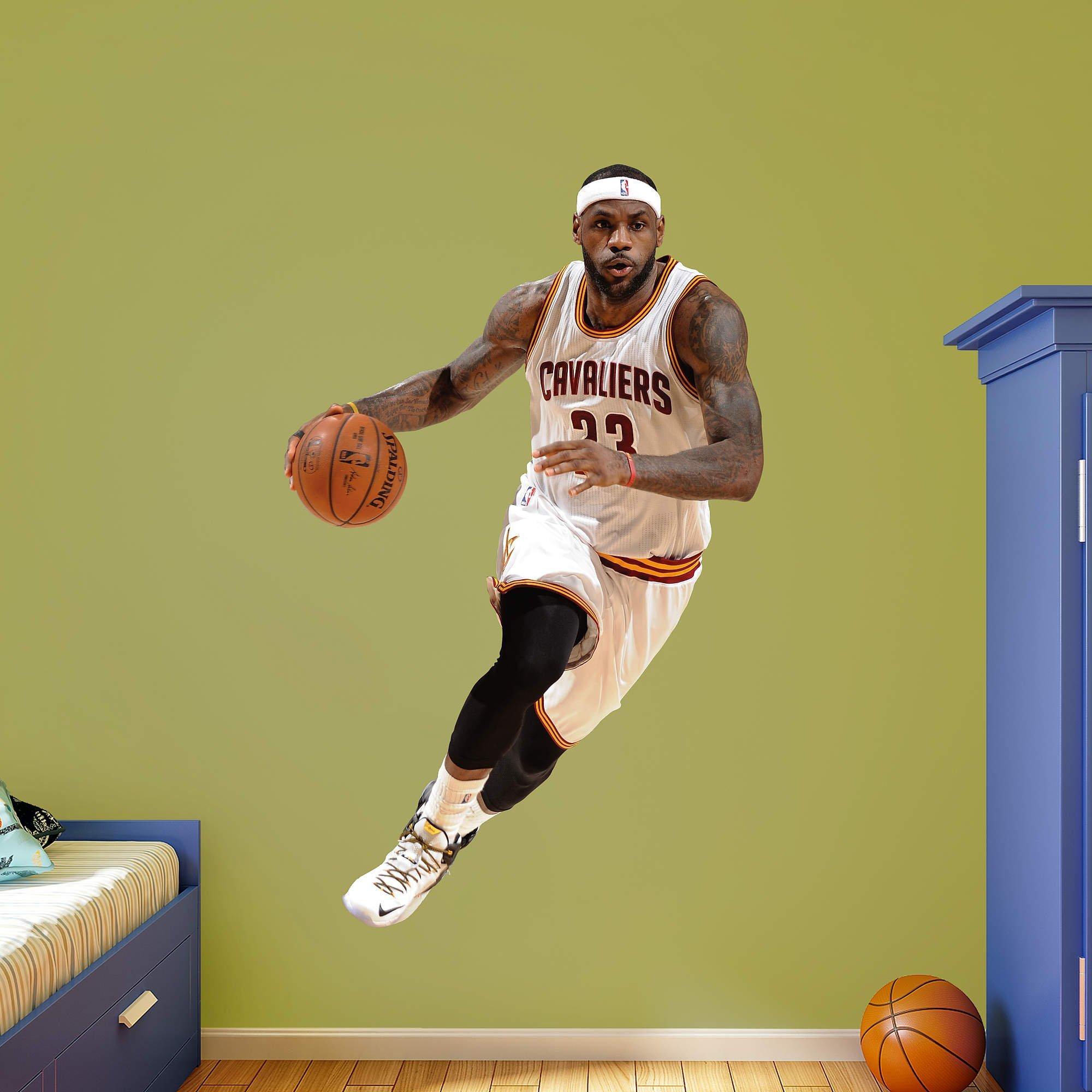 NBA Cleveland Cavaliers LeBron James 2015-2016 Real Big Photo