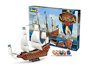 Revell- Maqueta Royal Swedish Warship Vasa, Kit Modello ...