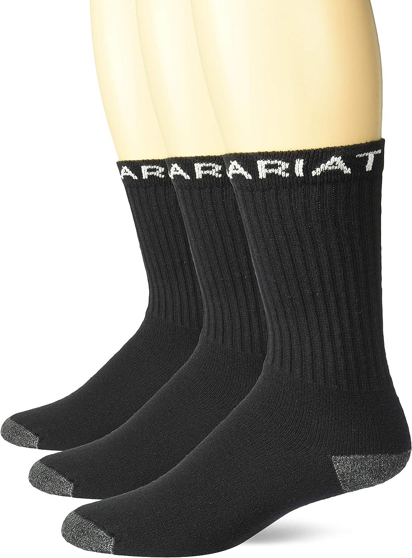 Ariat Men's Workboot Sock (3 Pack)