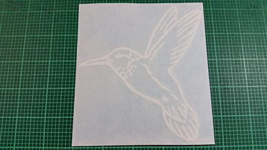 Auto Window High Quality Vinyl Decal Sticker 01093 Hummingbird
