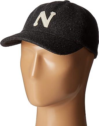 Amazon.com  Nixon Men s Prep Wool Strapback Hat Grey Hat  Clothing 81ac8824d42