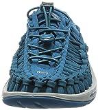 KEEN Men's Uneek Flat Shoe, Ink Blue/Neutral
