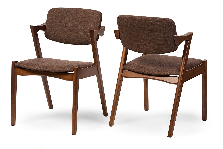 Amazon.com: Baxton Studio 2-Piece elegante mid-century ...