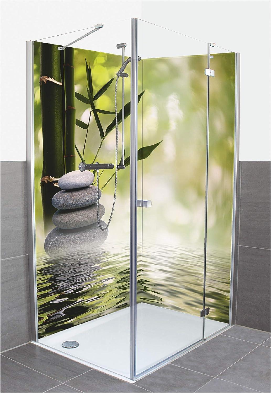 Artland D3JG - Panel de Pared para Ducha o Pared de Aluminio, diseño de tolokonov, Fondo asiático Abstracto para tu diseño, Color Verde: Amazon.es: Juguetes y juegos
