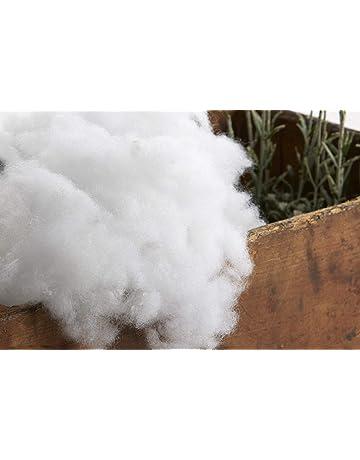 Textilhome - Relleno de Microfibra 100% Poliéster - 1 kg - Relleno para Peluche,