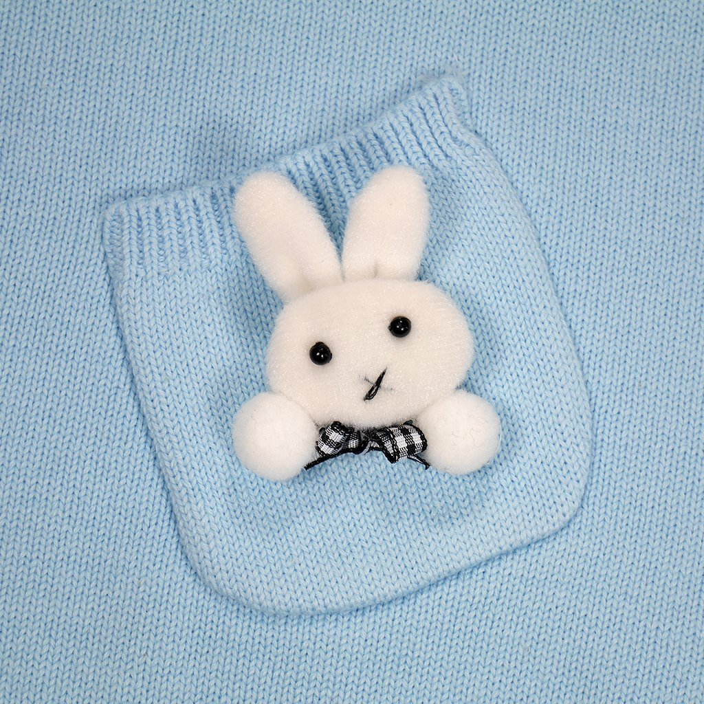 IUHA Cute Rabbit Decoration Sweater Vests Girls Cotton by IUHA (Image #5)