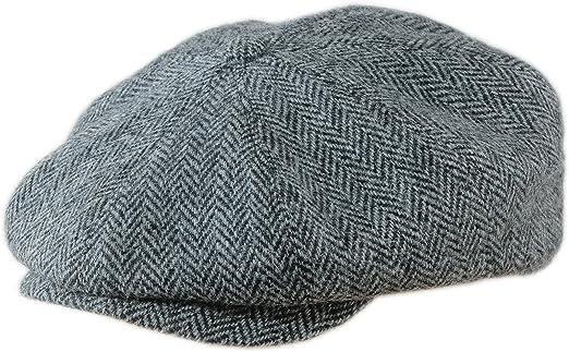 NEW MENS  100/%  PURE WOOL FLAT CAP