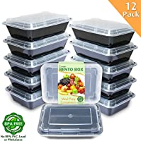 Enther Meal Prep Containers with 3 Compartments Parent