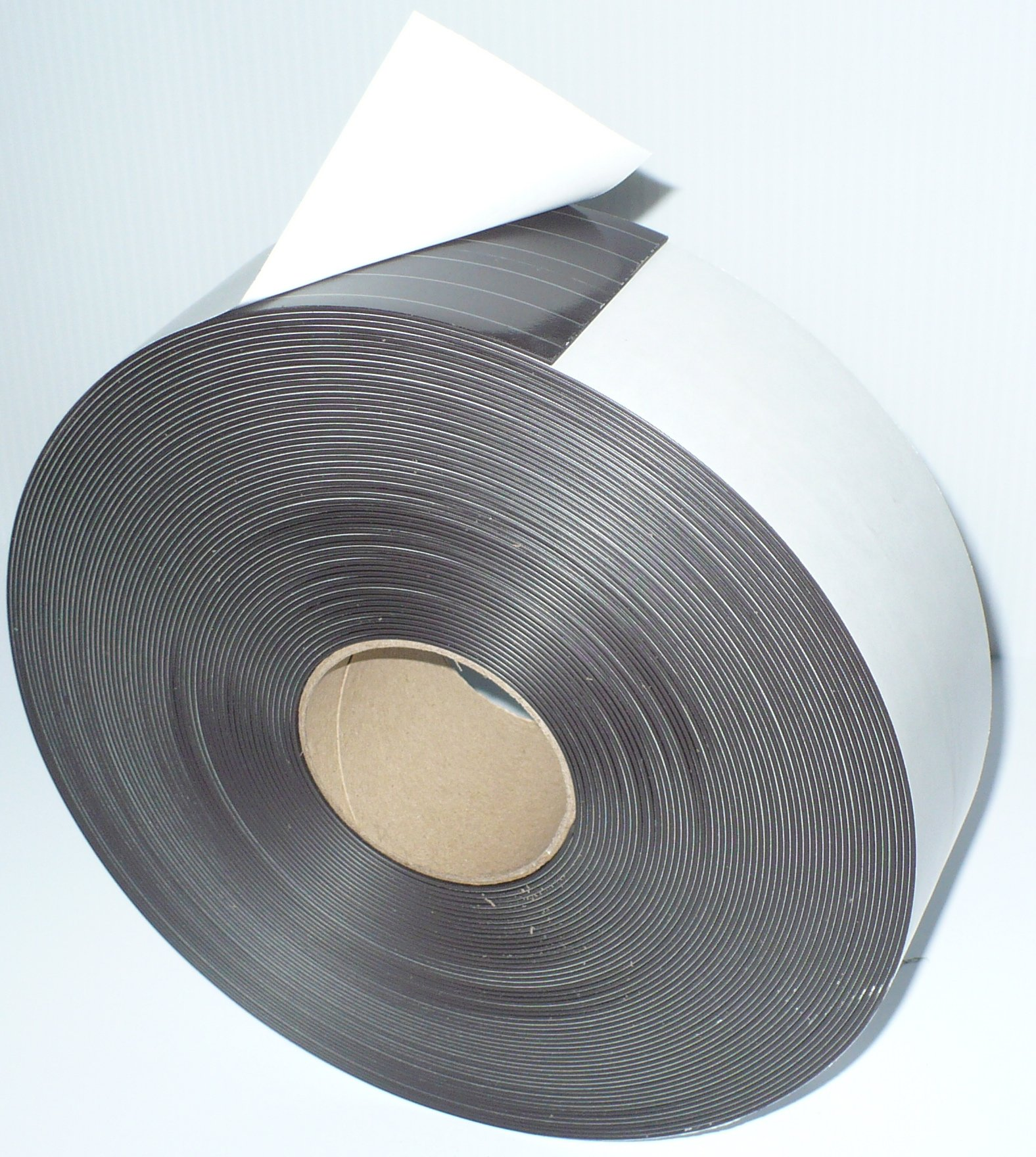 3'' X 100' - 60 mil Adhesive Magnetic Tape Strip Roll by Discount Magnets